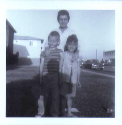 Doralice with Gilbert & Audrey - circa 1965