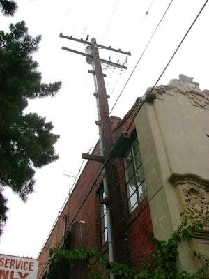 Pier Ave. Utility Pole