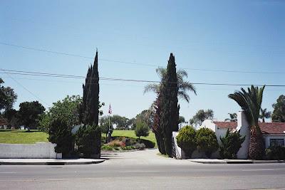 Entrance to Lincoln Cemetery - Carson