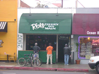 Sports Fans at Rick's Tavern on Main - Ocean Park