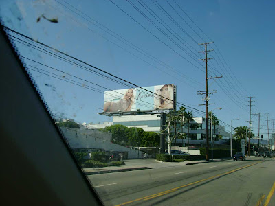 Driving North on Bundy Drive - West L.A.