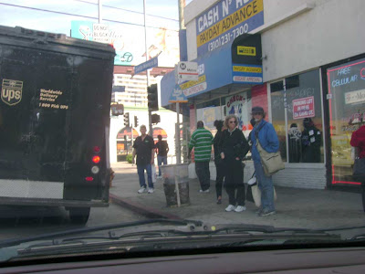 West L.A. Bus Stop - Santa Monica Blvd. & Sawtelle