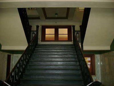 Morgue Stairs Upstairs