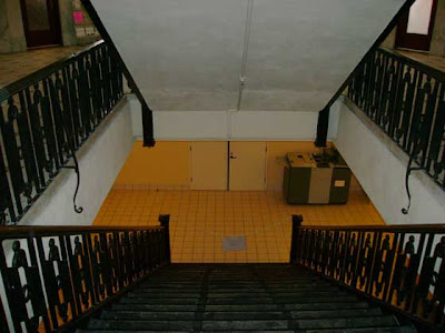 Morgue Stairs Downstairs