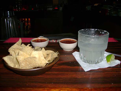Chips, Salsa, Scratch Margarita