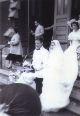 Doralice & Louis' wedding 1950