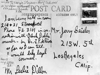 Black Dahlia Murder Suspect Leslie Dillon