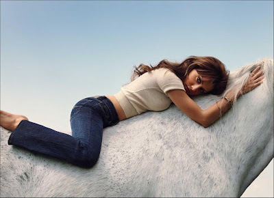 Brittany Murphy for Jordache Jeans