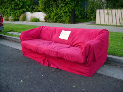 Couches Gone Wild - 14th Street - Santa Monica