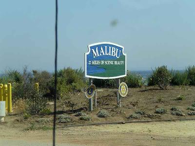Southbound PCH - North Entrance to Malibu