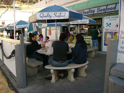 Cracking Crab on the Boardwalk - Redondo Beach
