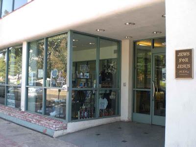 Jews for Jesus Bookstore - Westwood Village - Los Angeles