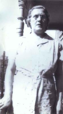 Delia on Vose St. Porch - 1942