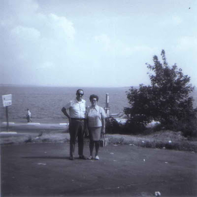 Tommy & Florence - Rocky Point, Rhode Island - 1970