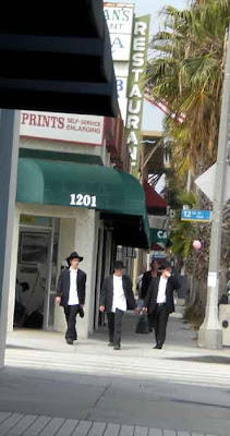 The Boys Are Back In Town - Santa Monica