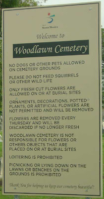 Woodlawn Cemetery - Santa Monica - Pt. 3