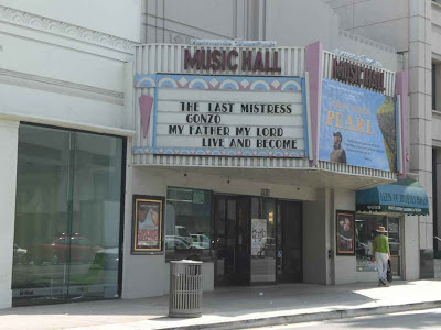 Music Hall Theatre - Beverly Hills