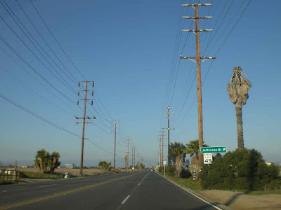 Eastbound on Culver Boulevard - Playa del Rey