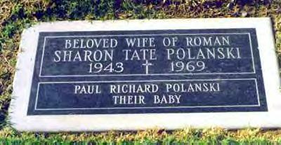 Sharon Tate's Original Gravestone