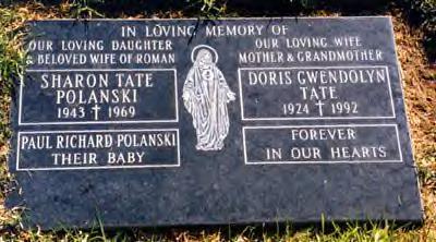 Sharon Tate Gravestone 2