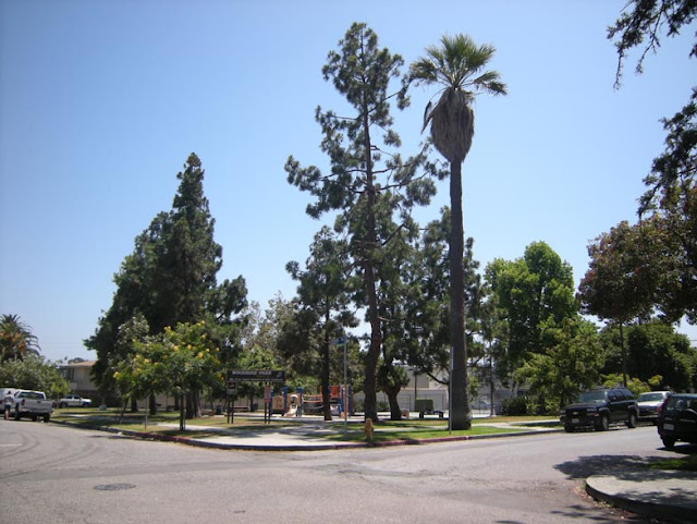 Woodbine Park in the Palms district of West Los Angeles