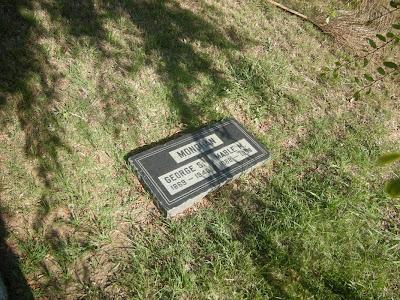 Mabel Monahan's Rosedale Cemetery Gravesite