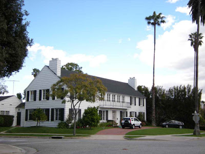 Lana Turner's Beverly Hills Home - Site of Johnny Stompanato Murder