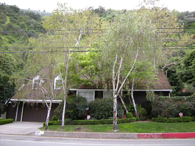 George Reeves' Benedict Canyon home