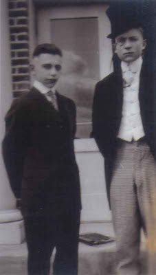 Dapper Thesbians Carl and Theodore