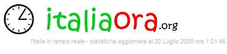 statistiche istat italia ora