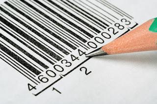creare, codice, barre, testo