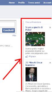 rimuovere pubblicità da facebook