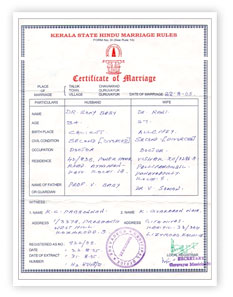 Village resource center november 2010 how to obtain marriage certificate yadclub Images