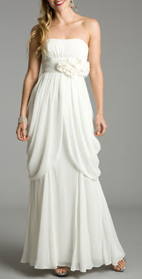 Featured Deal: Gathered Blossoms Wedding Dress