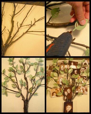 Crafty Sisters: My Family Tree Shadow Box