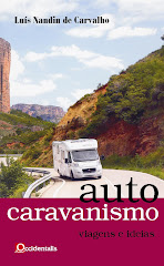 Enviamos pelo correio o livro sobre autocaravanismo (autografado) do Prof. Nandin de Carvalho