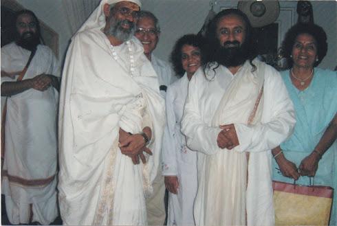 Swamiji with Ravi Shankar