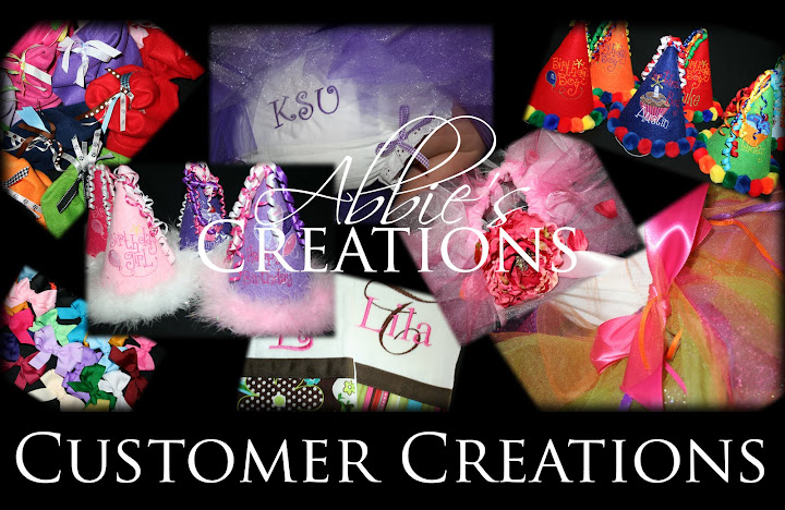 Abbie's Creations Customer Creations