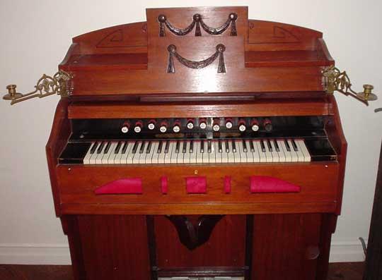 instrument organ organ