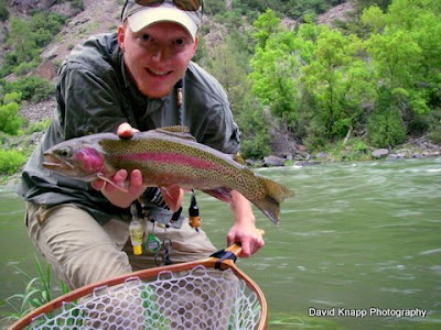 The trout zone onward to the gunnison for Gunnison river fishing