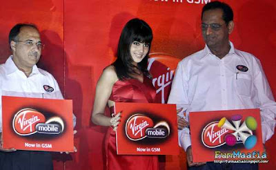 Genelia has been chosen as new Virgin ambassador