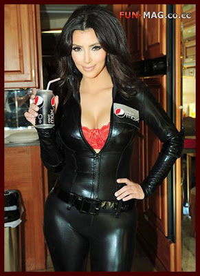 Kim Kardashian Pepsi Max Photo Shoot