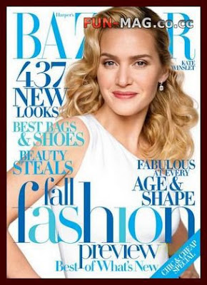 Kate Winslet Harper's Bazaar Magazine August 2009 Professional Photo Session