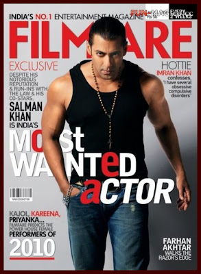 Salman Khan for Filmfare Magazine (July 2009)