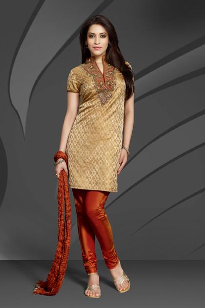 Skin Tight Churidars, Silk Shining Churidars for Modern Girls 2011, latest salwar designs