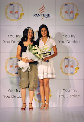 Katrina Kaif's Close Up Photos from Pantene's Promotional Event