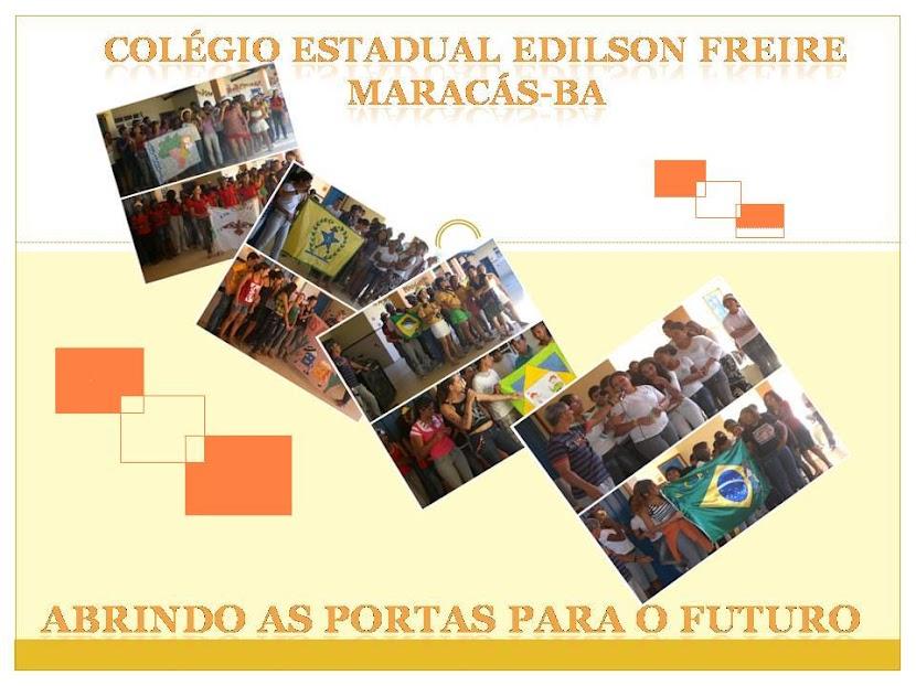 momentos do colegio Edilson Freire