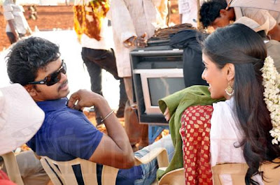 Asin and Vijay Stills