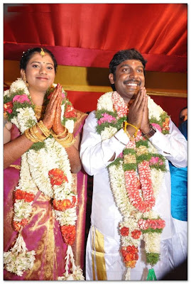 Actor Vijay Vasanth and Nithya marriage still