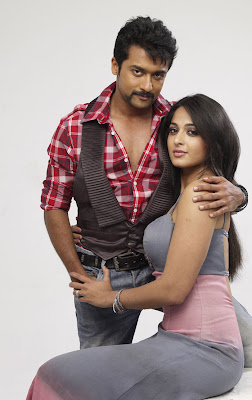 Surya and Anuska hot in Singam